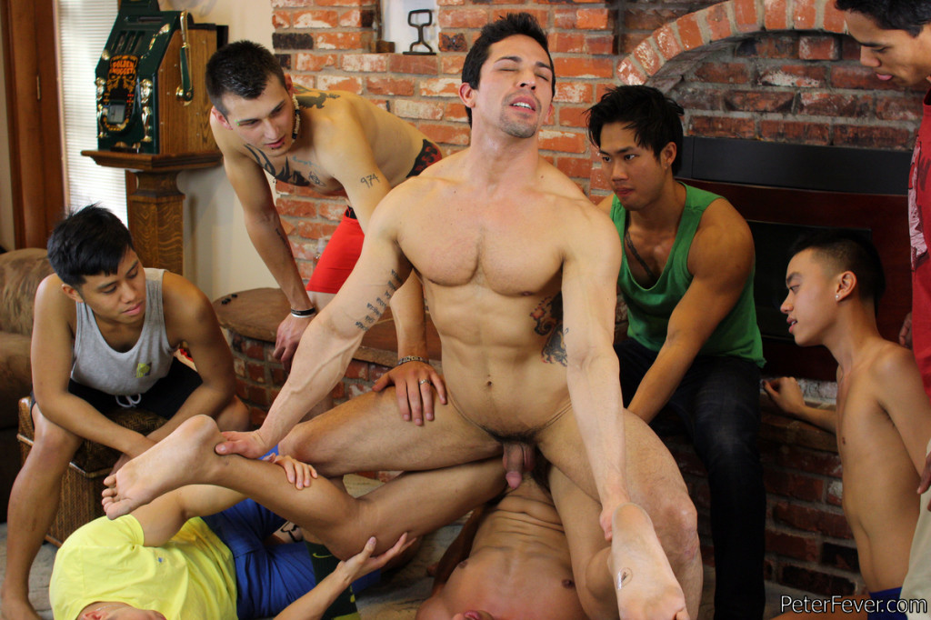 from Lance gay naked men playing