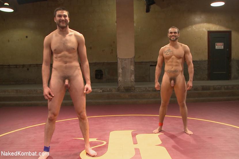 Abel Archer Versus Brock Avery At Naked Kombat - Gaydemon-3584