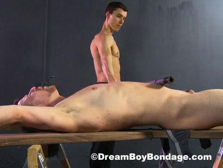Bondage college frat guy