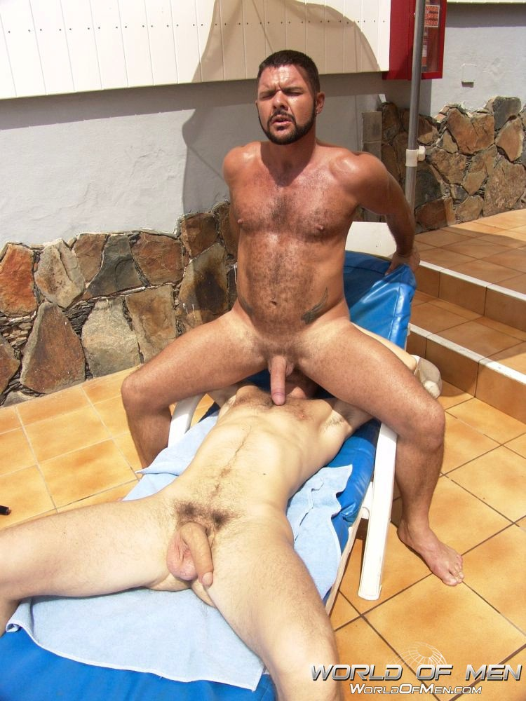 Hairy gay muscle fuck