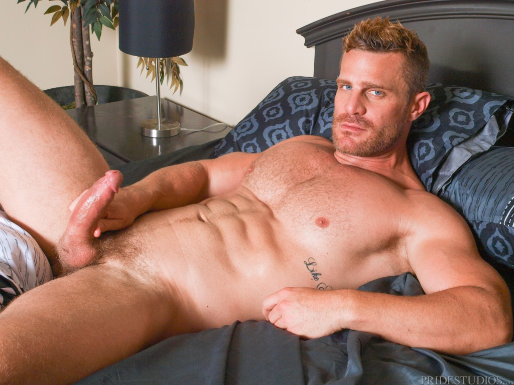 bryce evans and landon conrad at men over 30 - gaydemon