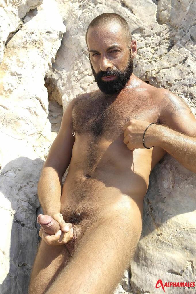 Hairy Bearded Alpha Male - Gaydemon-6294