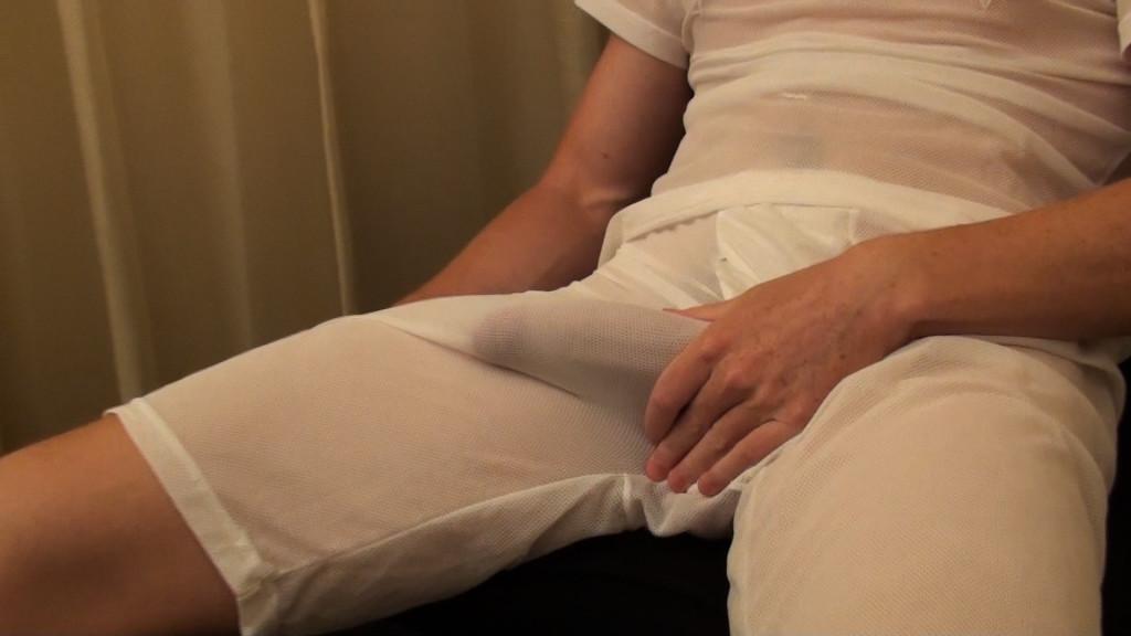 Mormon Lad Masturbating In His Holy Underwear - Gaydemon-8247