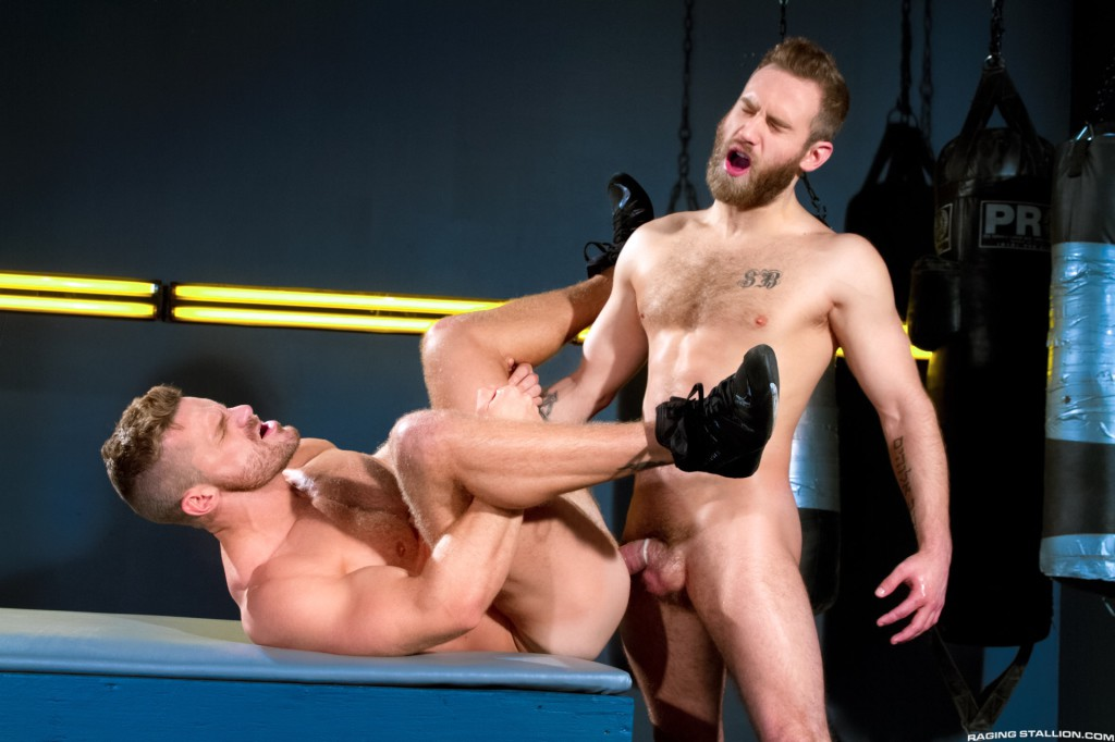Cock Fight From Raging Stallion - Gaydemon-3566