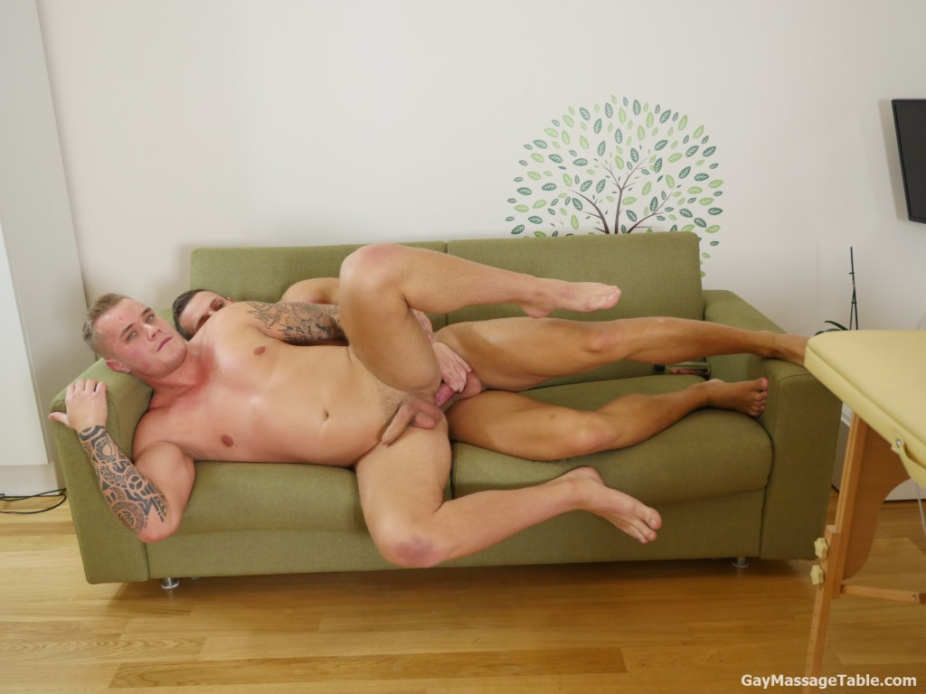 from Emilio gay massage table sex