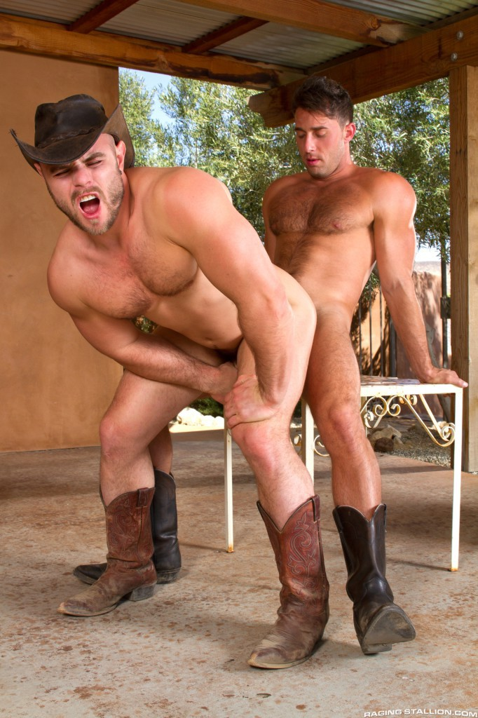 Nick Sterling And Armando De Armas At Raging Stallion -3634
