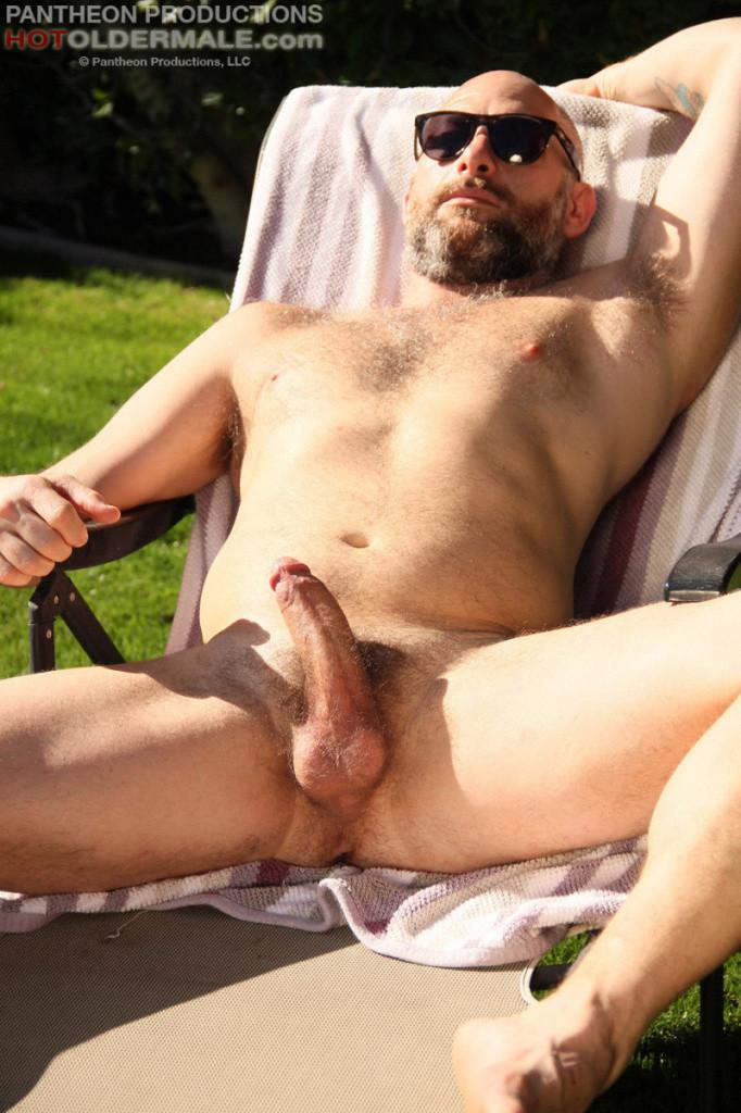 Sailor Jacking His Big Meaty Cock - Gaydemon-9261