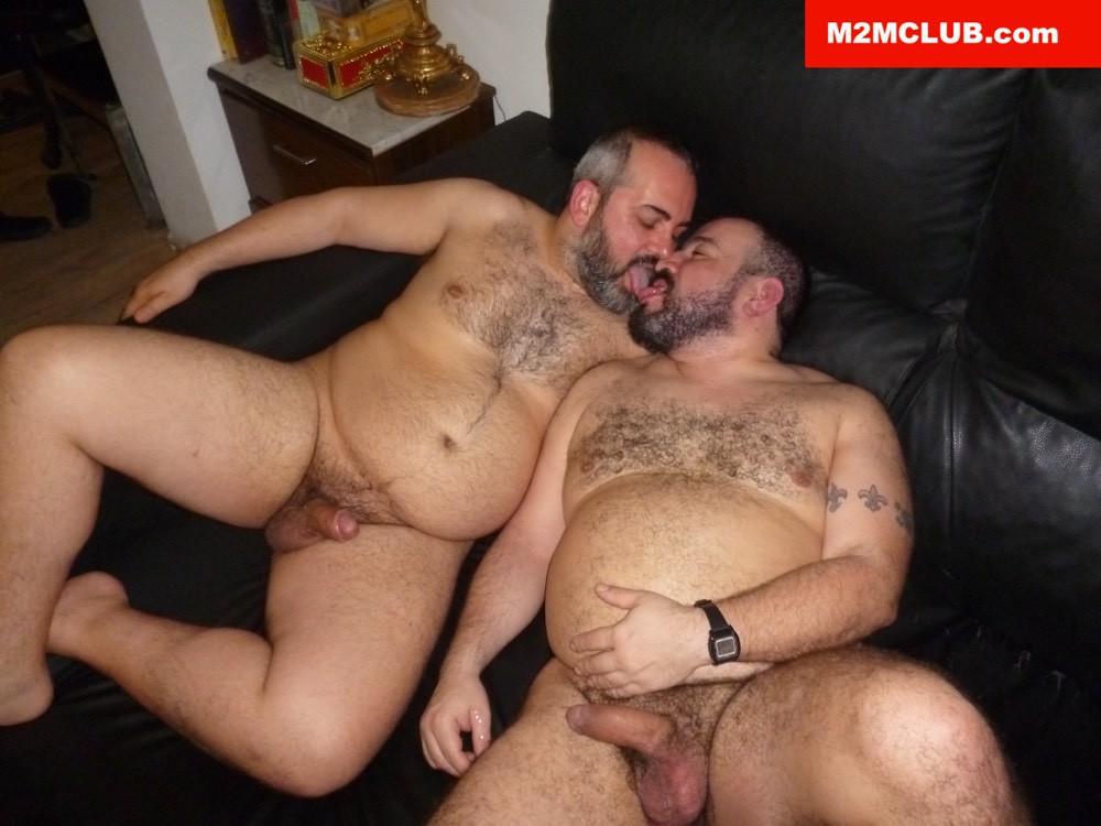 Spaniard Bear Couple At M2M Club - Gaydemon-1175