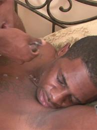 Video: big fat thug cock up his ass