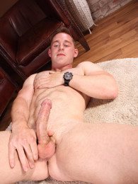 Video: bisexual hunk jonas stroking at blake mason