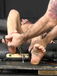 Video: ASHER at tickled hard