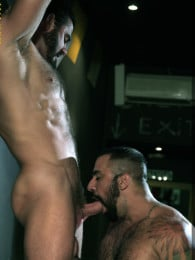 Video: Jessy Ares and Ricky Ares fucking at men at play