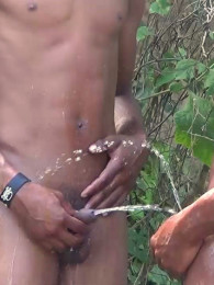 Video: horny 18-year-old piss boys