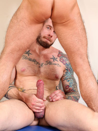 Video: Hot cub takes Harley Everett's big cock