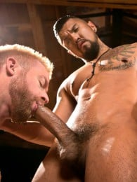 Video: Boomer Banks & Christopher Daniels at fisting central