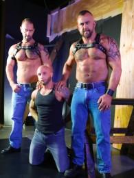 Video: hairy man threeway with Drake Jaden, Vic Rocco, Jon Galt