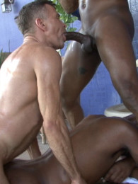 Video: interracial and big dick threeway at raw nasty fuckers