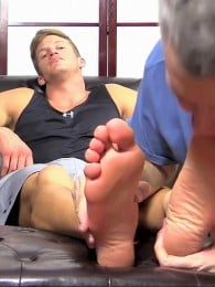 Video: worshipping mike's big feet