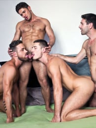 Video: dato foland in fourway bareback orgy