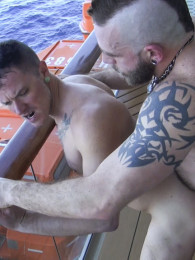 Video: Johnny Parker and Max Cameron at raw fuck club