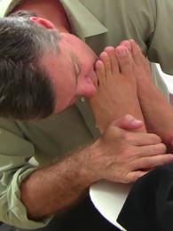 Video: Braden charron at my friends' feet