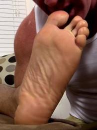 Video: javi worshipped at my friends' feet