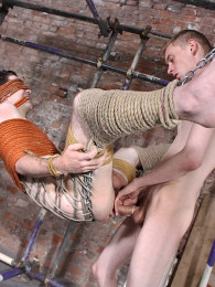 Video: edwin is gagged with rope on boynapped