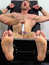 Video: tickling colby keller at my friends' feet