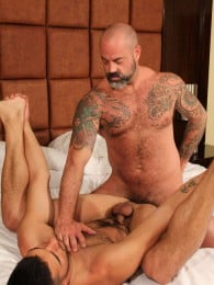 Video: inked daddy scotty rage bones nick andrews
