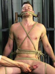 Video: roped stud thomas gets edged
