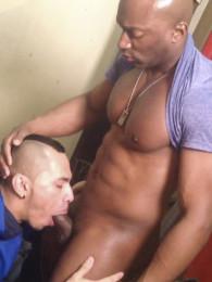 Video: Champ Robinson and Romero Santos at raw fuck club