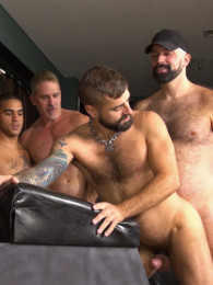 Video: Hairy Pup Gets Boned at raw and rough