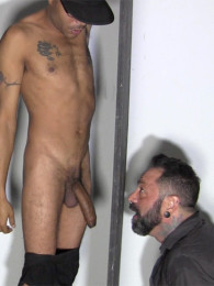 Video: max at the straight fraternity glory hole