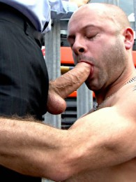 Video: Dillon Buck takes his boss Jaxson Phillipe's dick