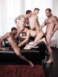 Video: pedro andreas leads bareback orgy at lucas entertainment