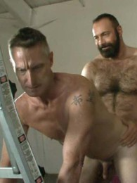 Video: hot older male's Brad Kalvo and Scott Mann